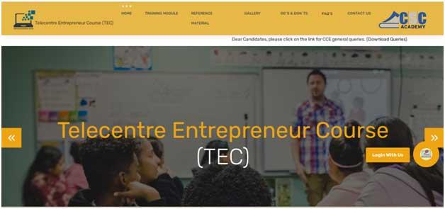 TEC certificate