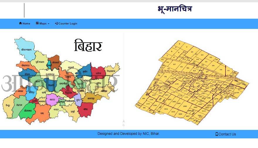Bihar-Bhu Map