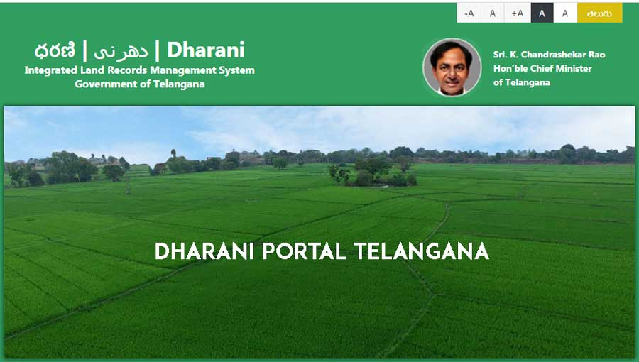 Dharani-Portal Telangana