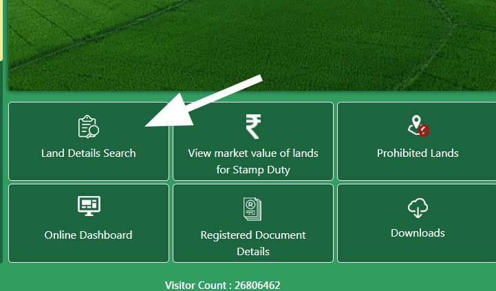 Land-details search Telangana