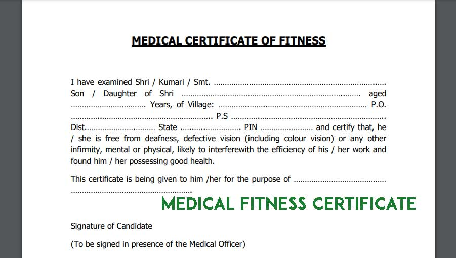 Medical-Fitness-Certificate