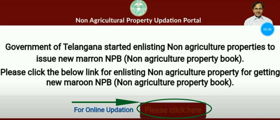 Non Agriculture Property-Registration Telangana