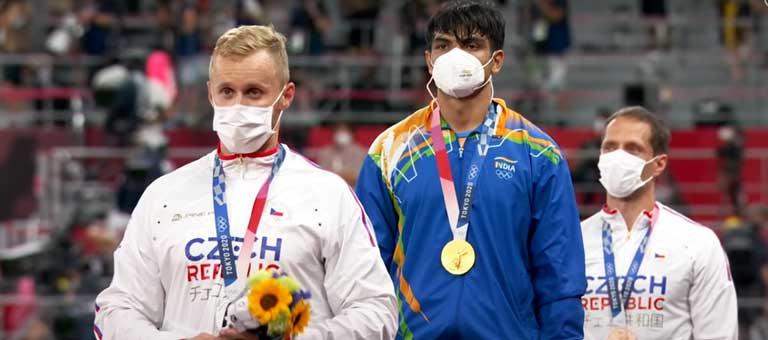Neeraj-Chopra-Gold-Medal
